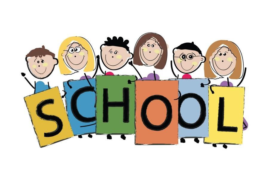 dzieci w szkole jezyka angielskiego